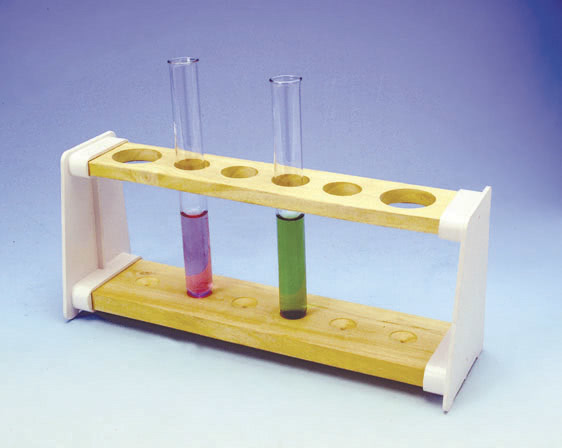 Test Tube Rack 6H (2x30.4x20) Polyprop End (Pk10)