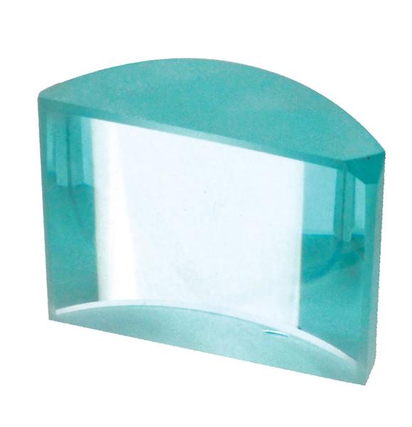 Lenses Cylindrical Glass 50x45 F 75mm - Biconvex