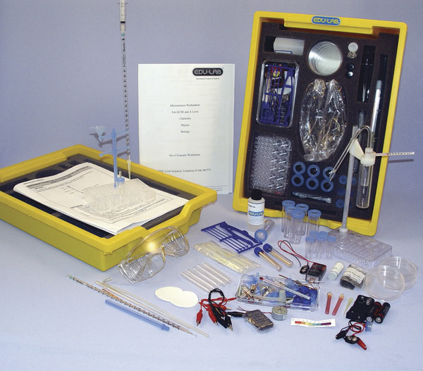 Microscience Work Station, Biology, Physics and Chemistry - Edulab