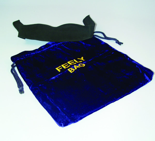 Feely Bag and Blindfold