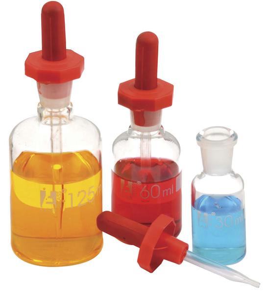 Dropper Bottle, Amber, 125ml (Pk6)