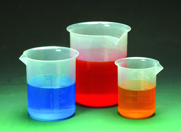 Beaker Polyprop Set of 5 (50,100,250,500,1000ml)