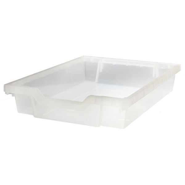 Gratnell Tray Shallow Translucent