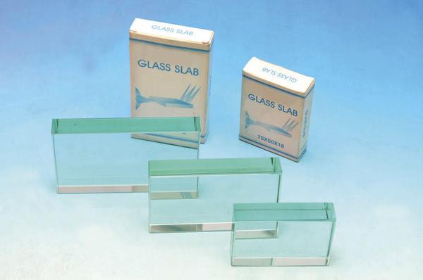 Prism - Clear Glass Rectangular Block 115x65x18mm