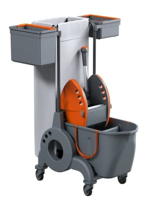 Mopping Trolleys Giotto TB2 LT 15+10 TL Low Noise
