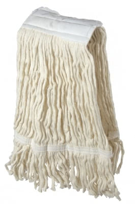 Mop Head, K-Cotton 350 GR with band (Pack of 50)