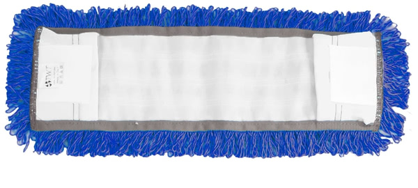 Consumables - Mop Head Flat Mop - Microcolour Blue