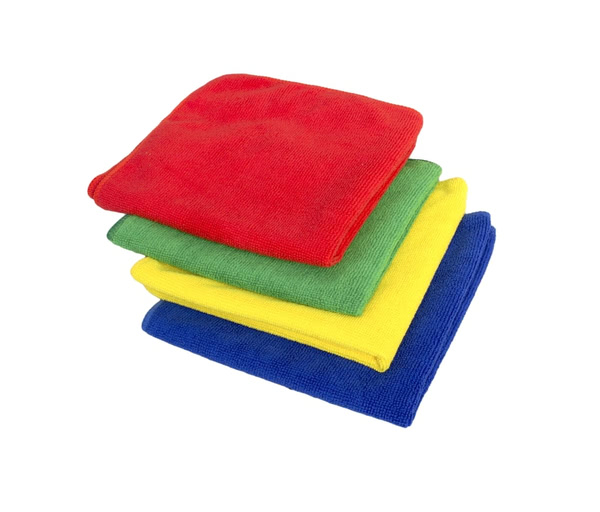Yellow Microfibre Cloth ideal for all types of cleaning