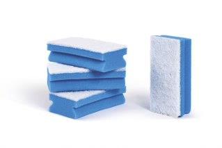 Bi-Coloured Blue Sponge (Pack of 100)