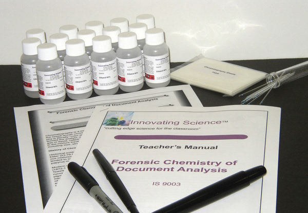 Forensic Chemistry of Chromatography (Document Analysis)