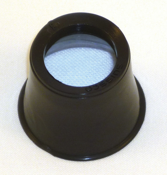 Watchmakers Eye Glass dia 25mm plastic lens