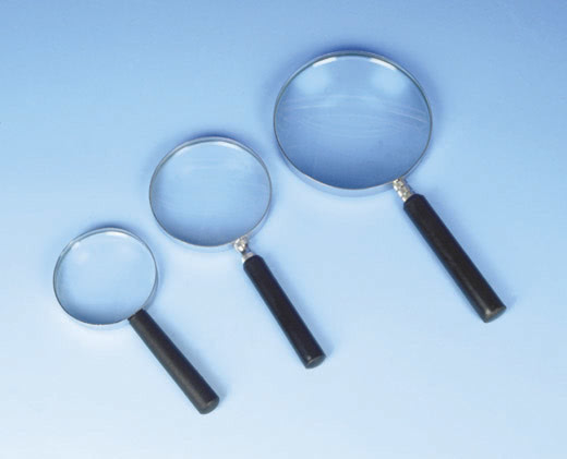 Magnifier, Reading Glass Metal Frame  7.5/20cm