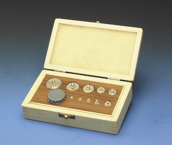 Mass,Weighing Set,Brass,HW Case 1mg- 100gm