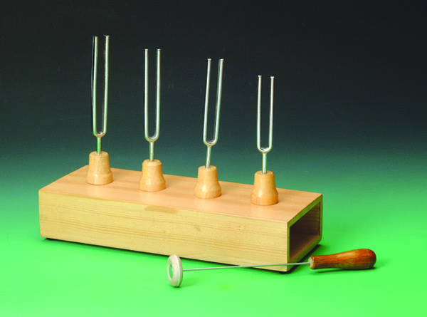 Tuning Fork(4 x Steel)on resonance box