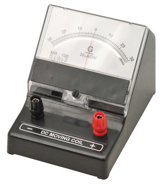 Galvanometer 50-0-50mV