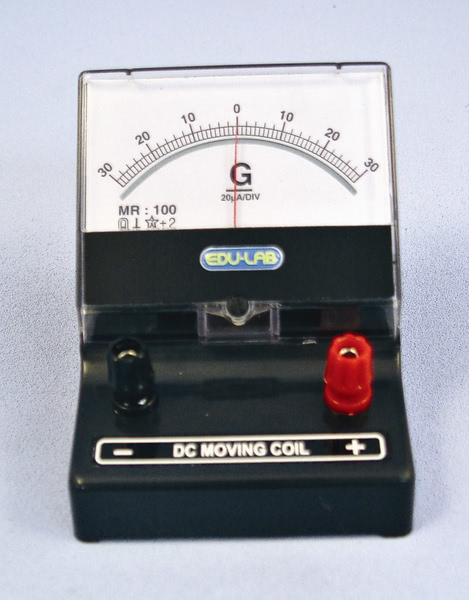 Galvanometer 30-0-30 mA