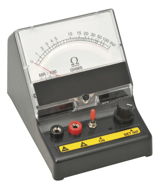 Ohmmeter Series Type 0-100 ohms