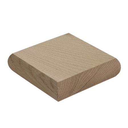 Oak Minimal Newel Cap
