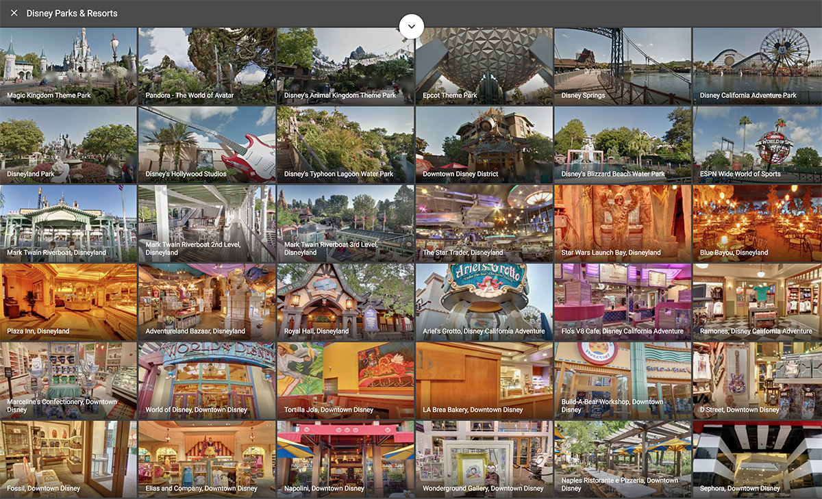 Disney S Us Theme Parks Are Now Available On Google Street View