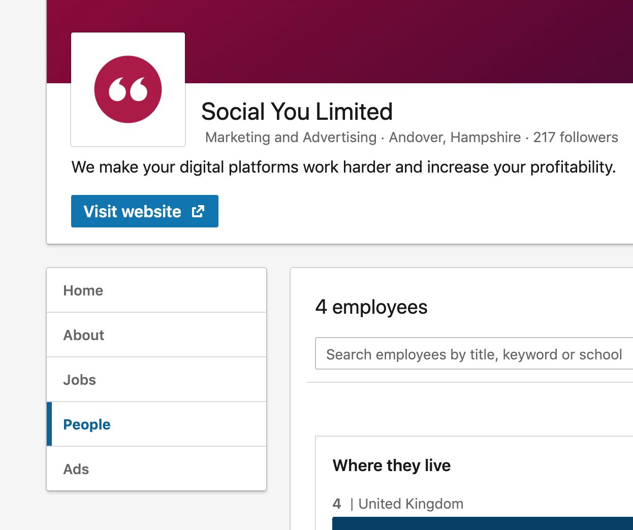 LinkedIn - Connecting Employees