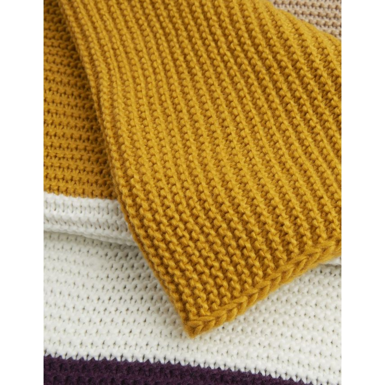 Joules Annis Chunky Knitted Scarf Z