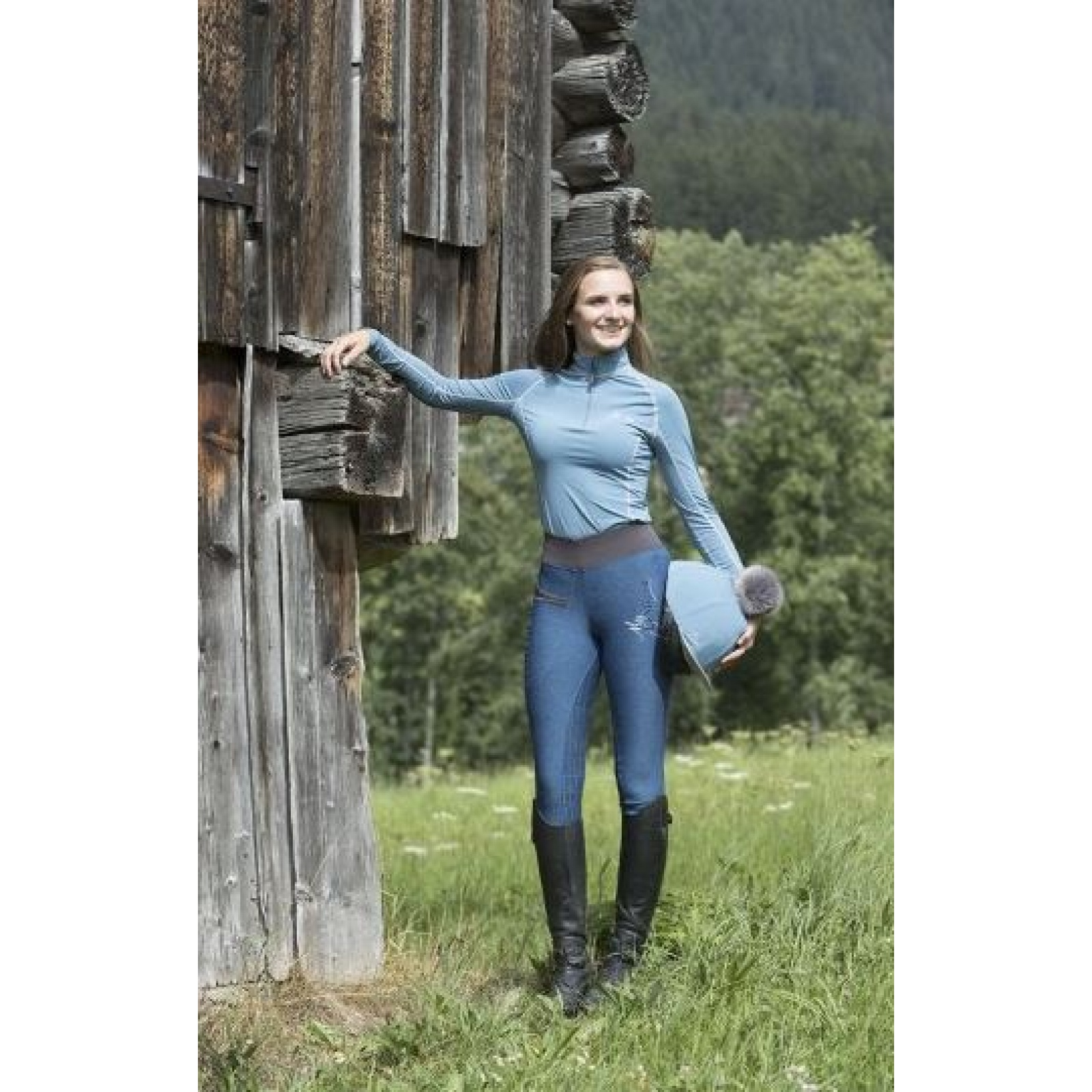 My-LeMieux-Pull-On-Breeches-Riding-Tights miniature 15