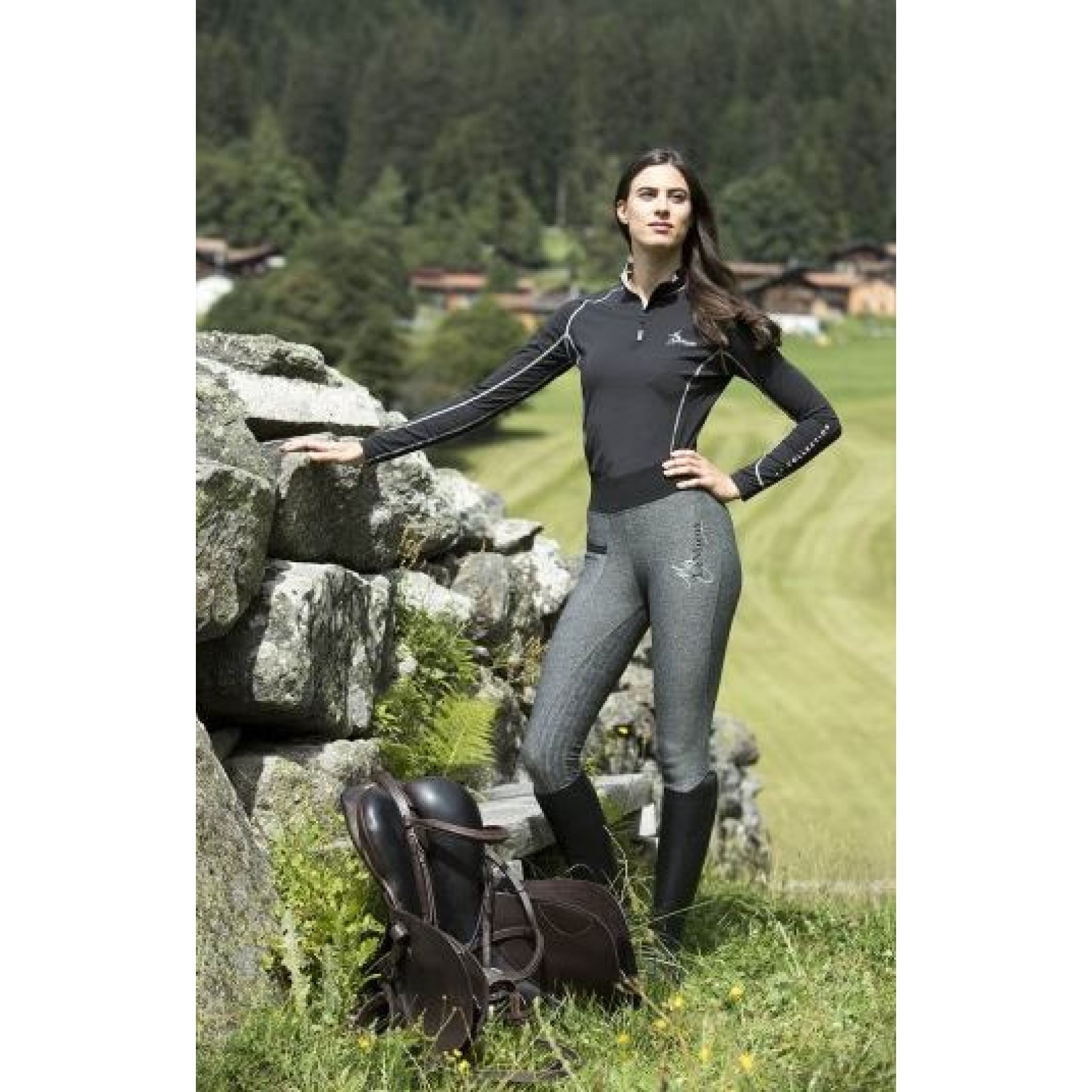 My-LeMieux-Pull-On-Breeches-Riding-Tights miniature 12