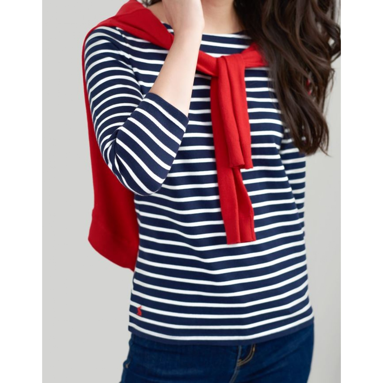 Joules-Harbour-Jersey-3-4-Sleeve-Top-SS19 thumbnail 29
