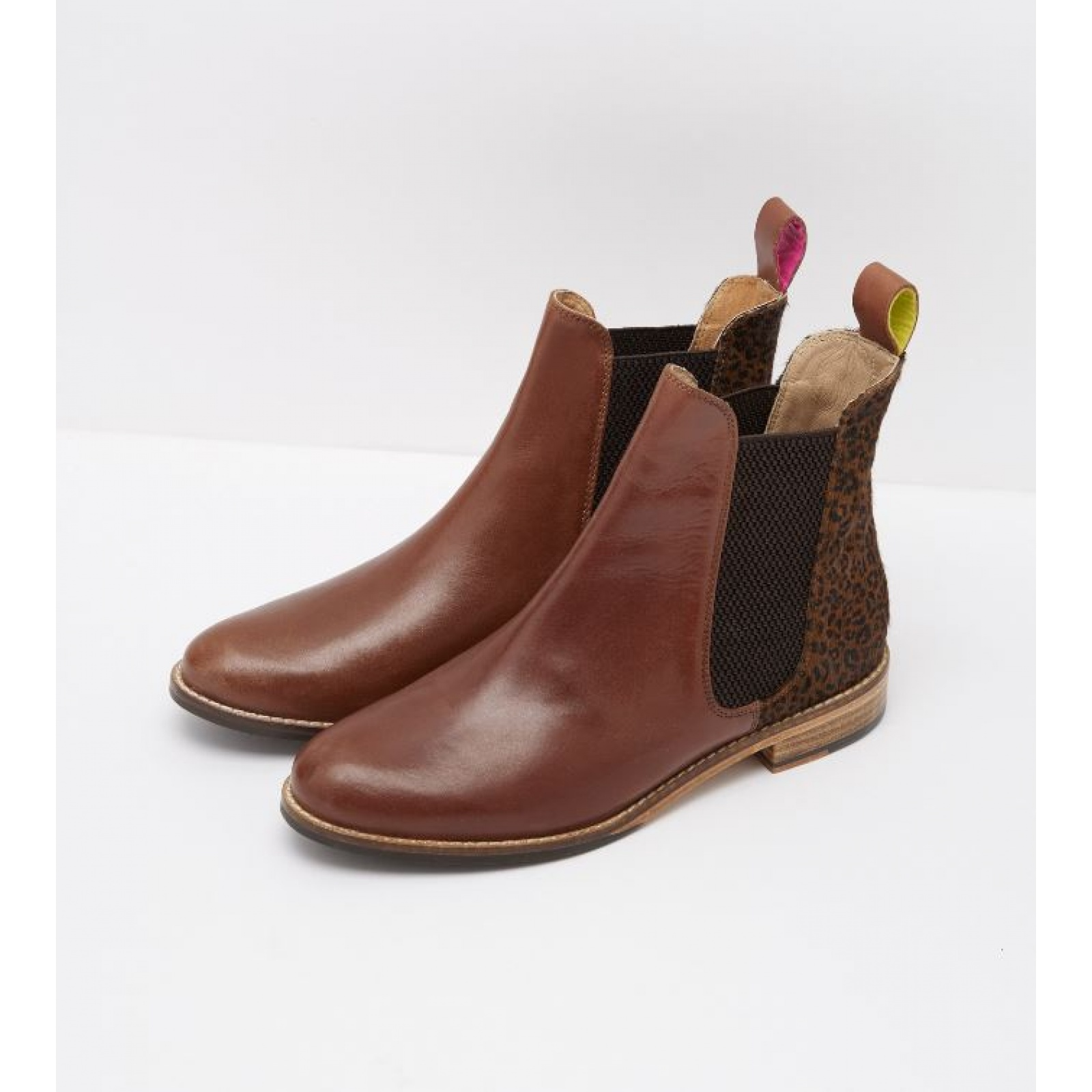 Joules-Westbourne-Premium-Leather-Chelsea-Boot-ALL-COLOURS miniature 16