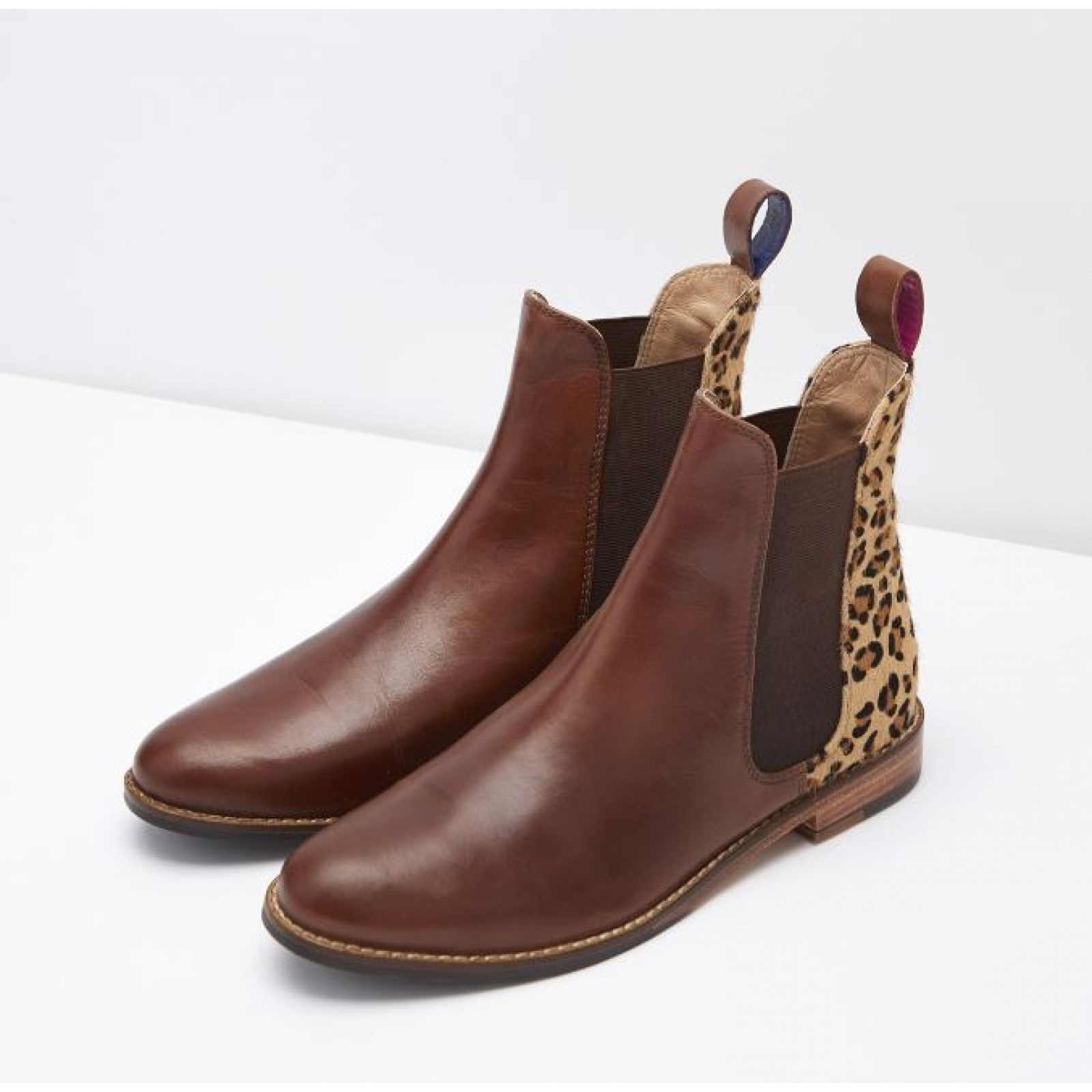 Joules-Westbourne-Premium-Leather-Chelsea-Boot-ALL-COLOURS miniature 10