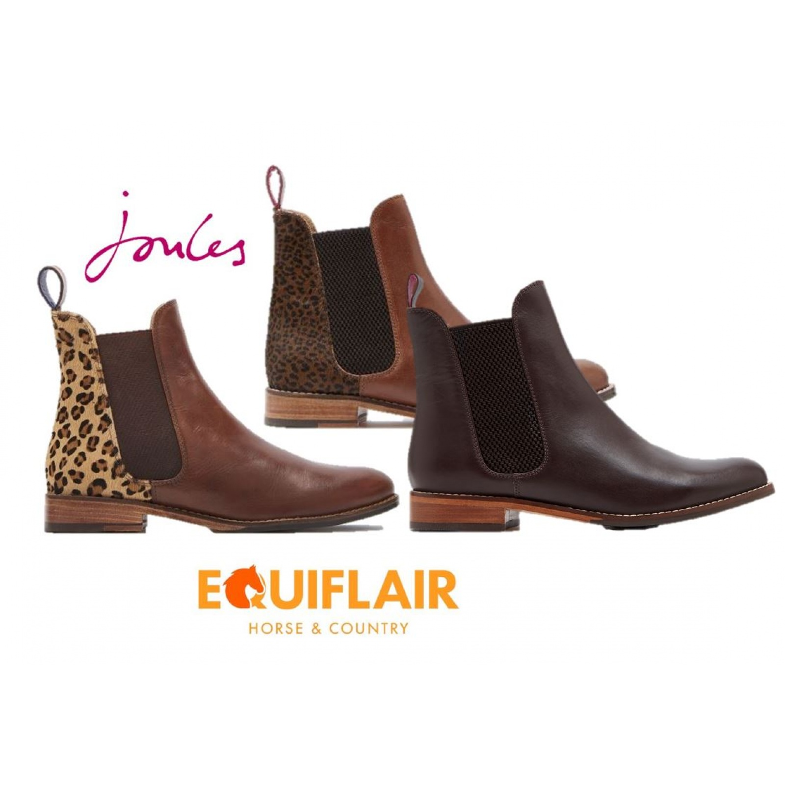 Joules-Westbourne-Premium-Leather-Chelsea-Boot-ALL-COLOURS miniature 6