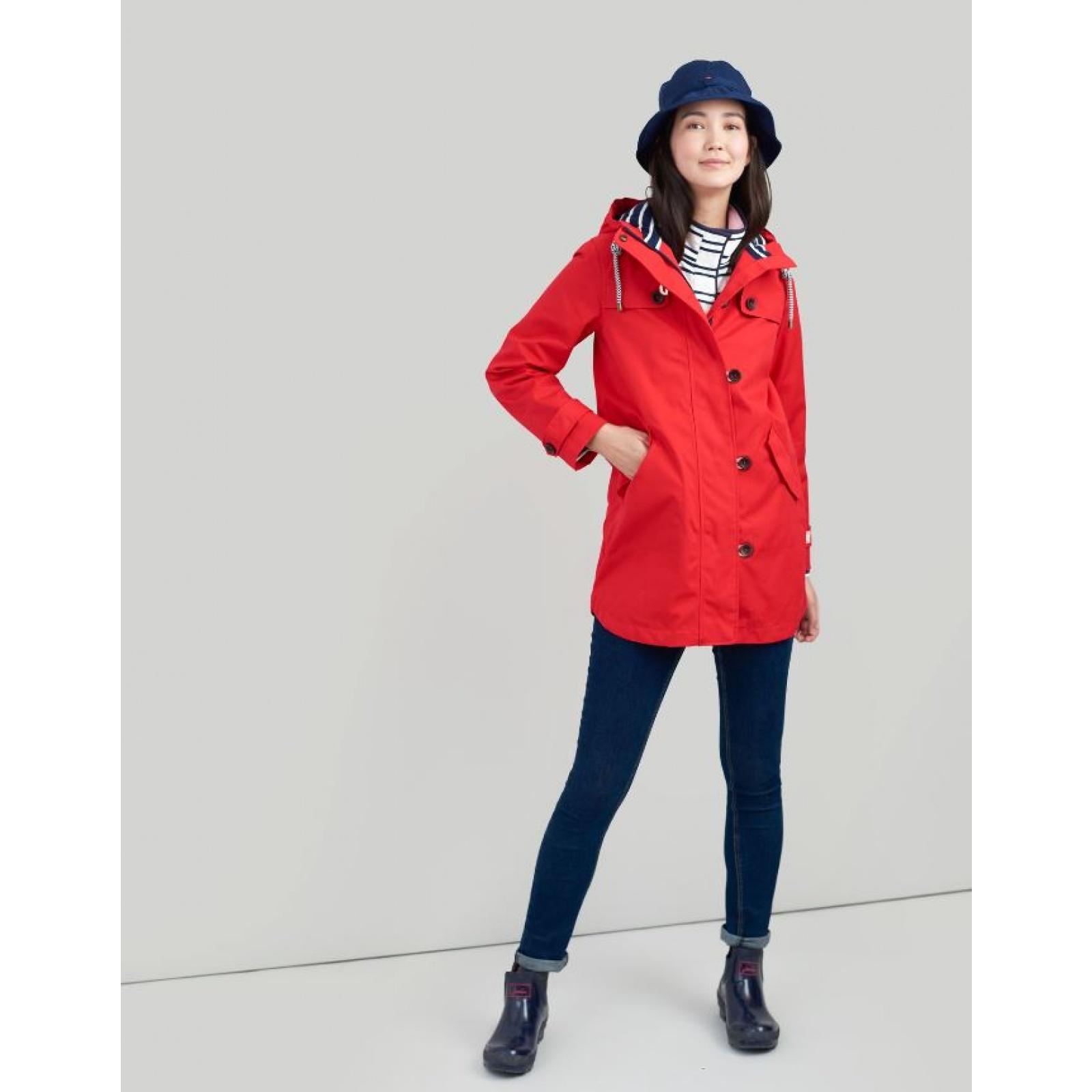 Joules-Coast-Mid-Waterproof-Hooded-Rain-Jacket-MORE-COLOURS miniature 27