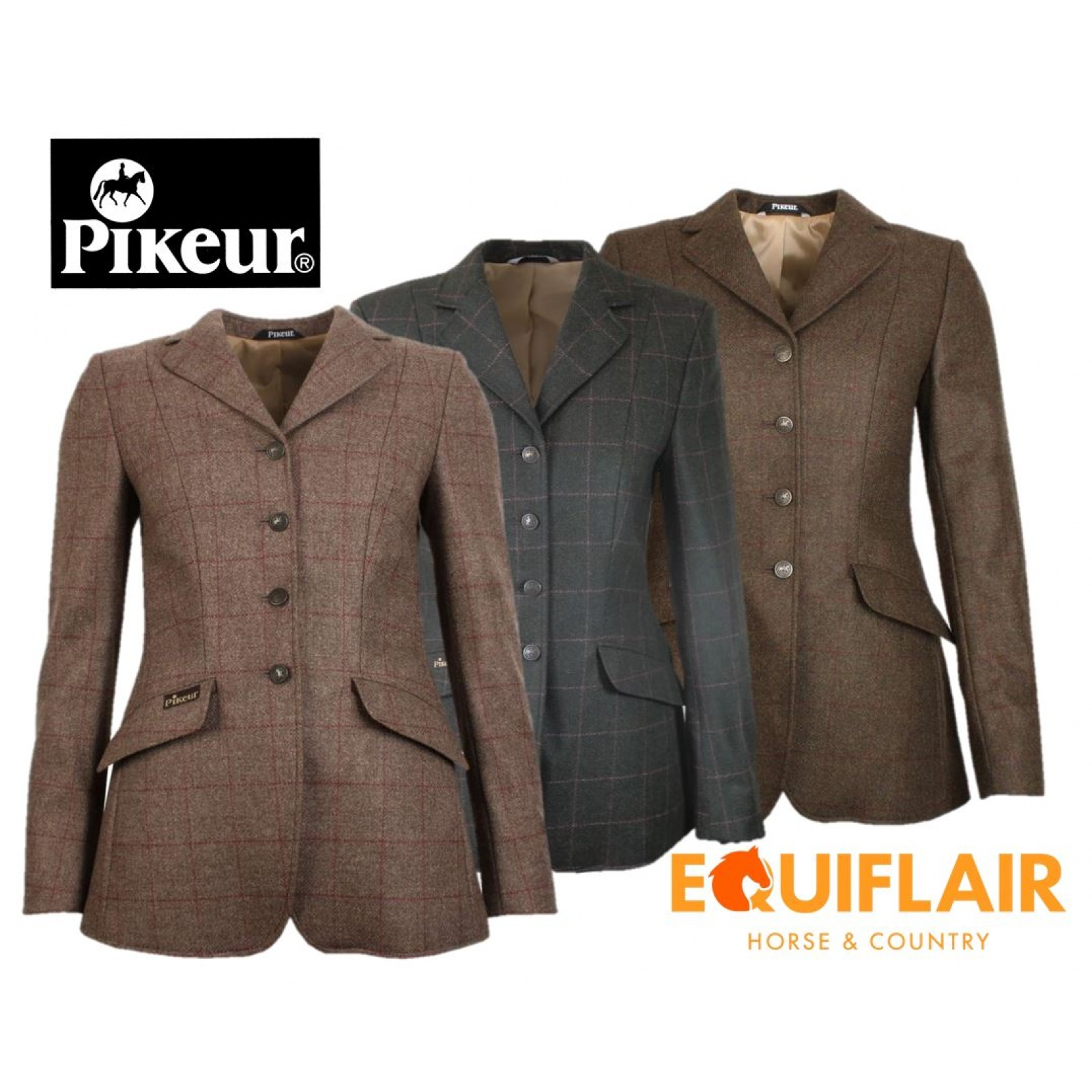 Pikeur-Epsom-Tweed-Show-Competition-Hacking-Jacket miniature 5