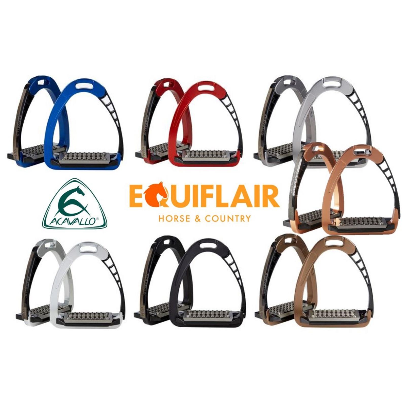 Acavallo-Arena-AluPro-Aluminium-Safety-Stirrup-Irons miniature 3