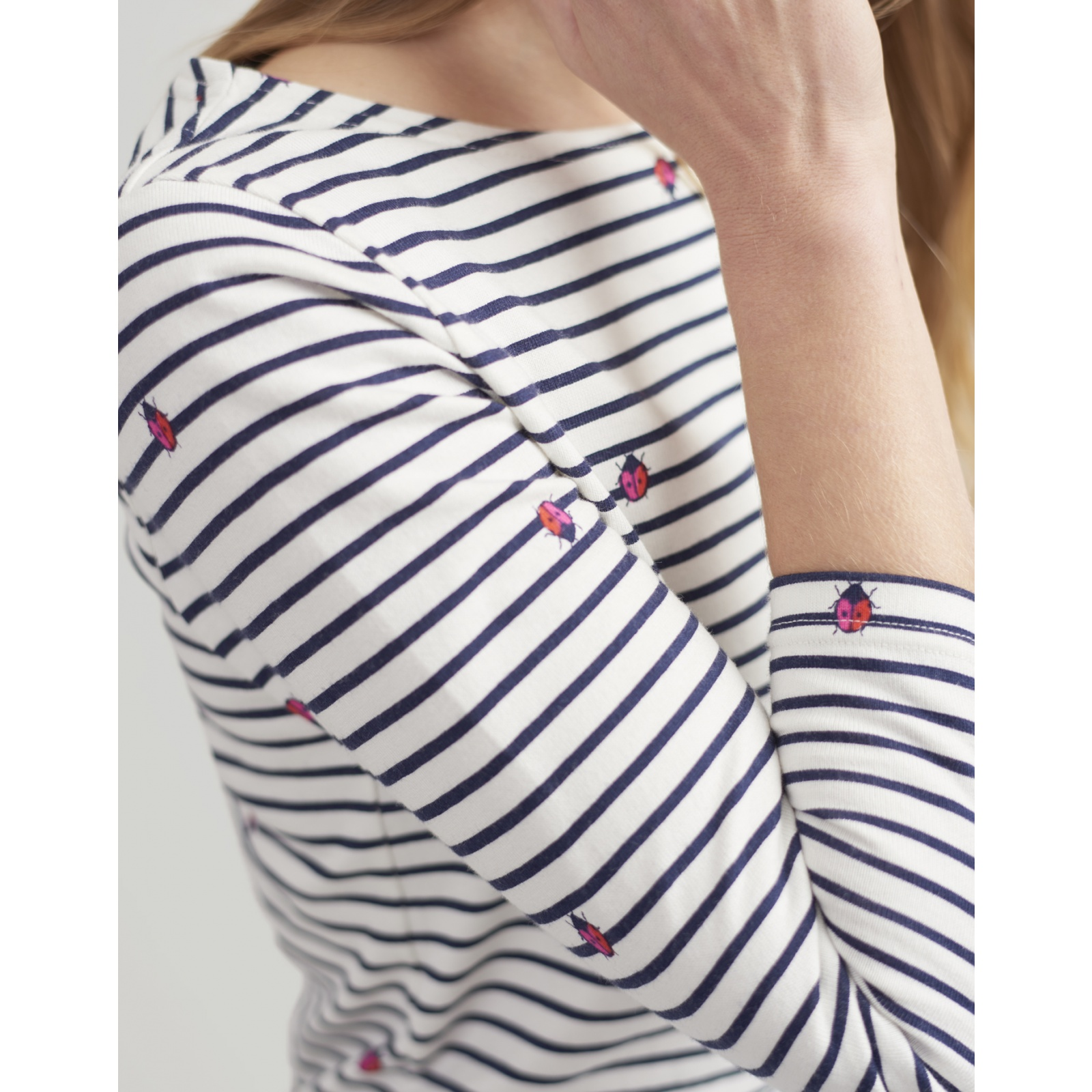 Joules-Harbour-Printed-3-4-Sleeve-Jersey-Top-SS19 thumbnail 29