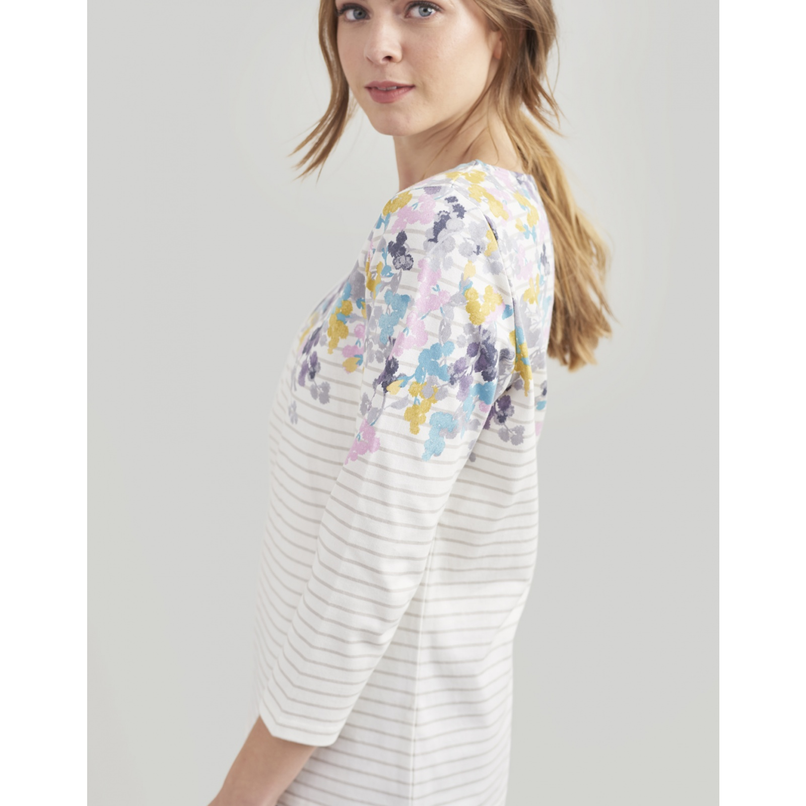 Joules-Harbour-Printed-3-4-Sleeve-Jersey-Top-SS19 thumbnail 42
