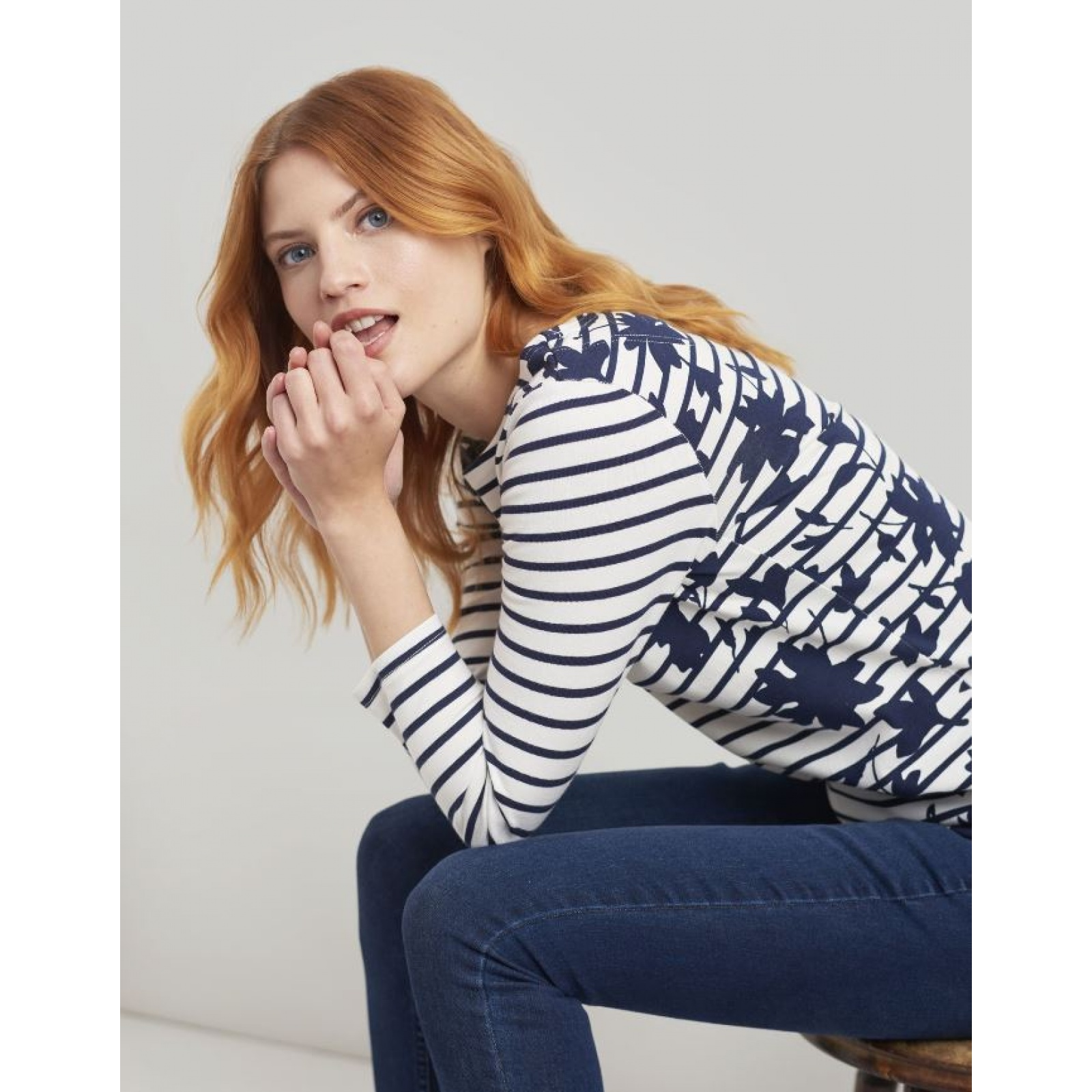 Joules-Harbour-Printed-3-4-Sleeve-Jersey-Top-SS19 thumbnail 64