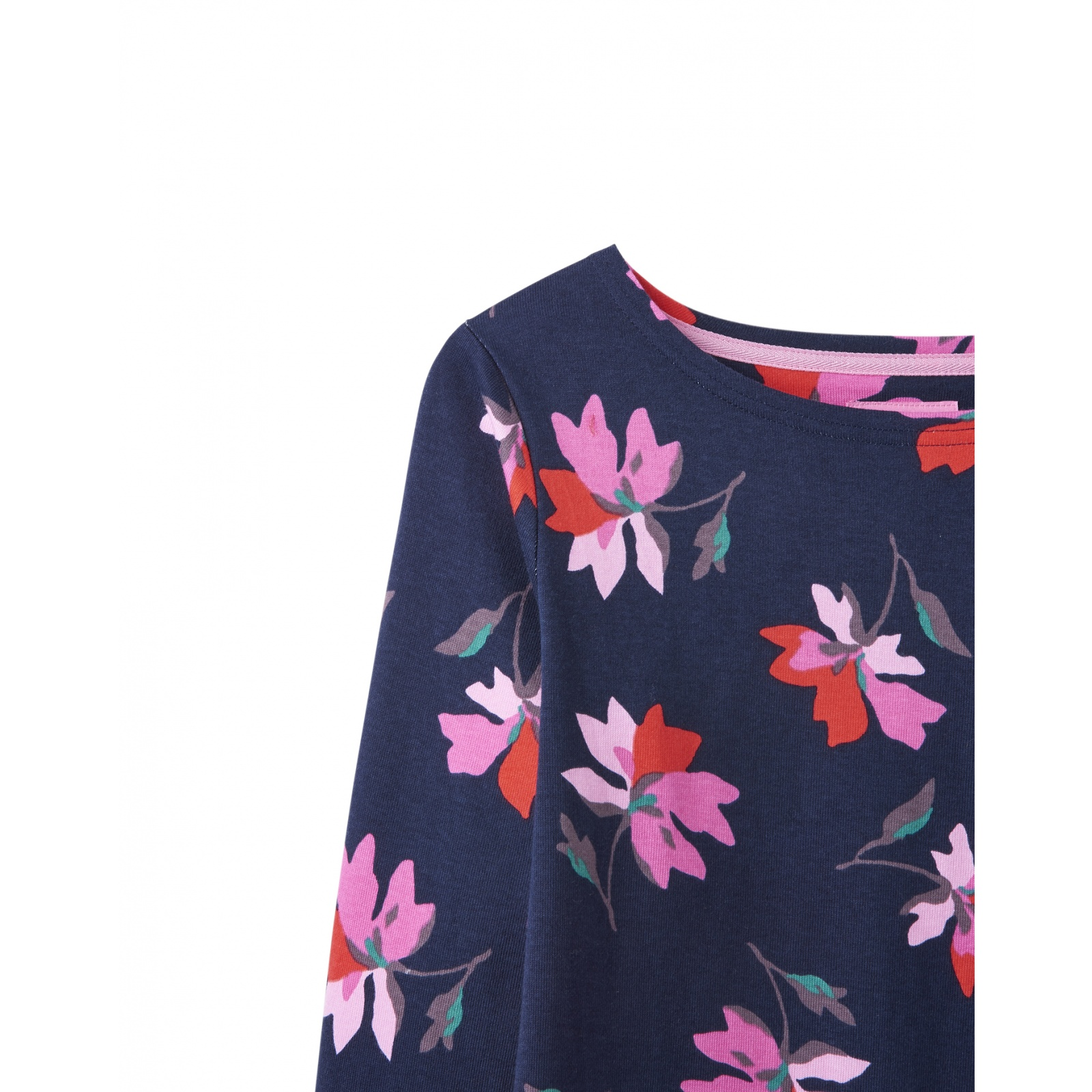 Joules-Harbour-Printed-3-4-Sleeve-Jersey-Top-SS19 thumbnail 73