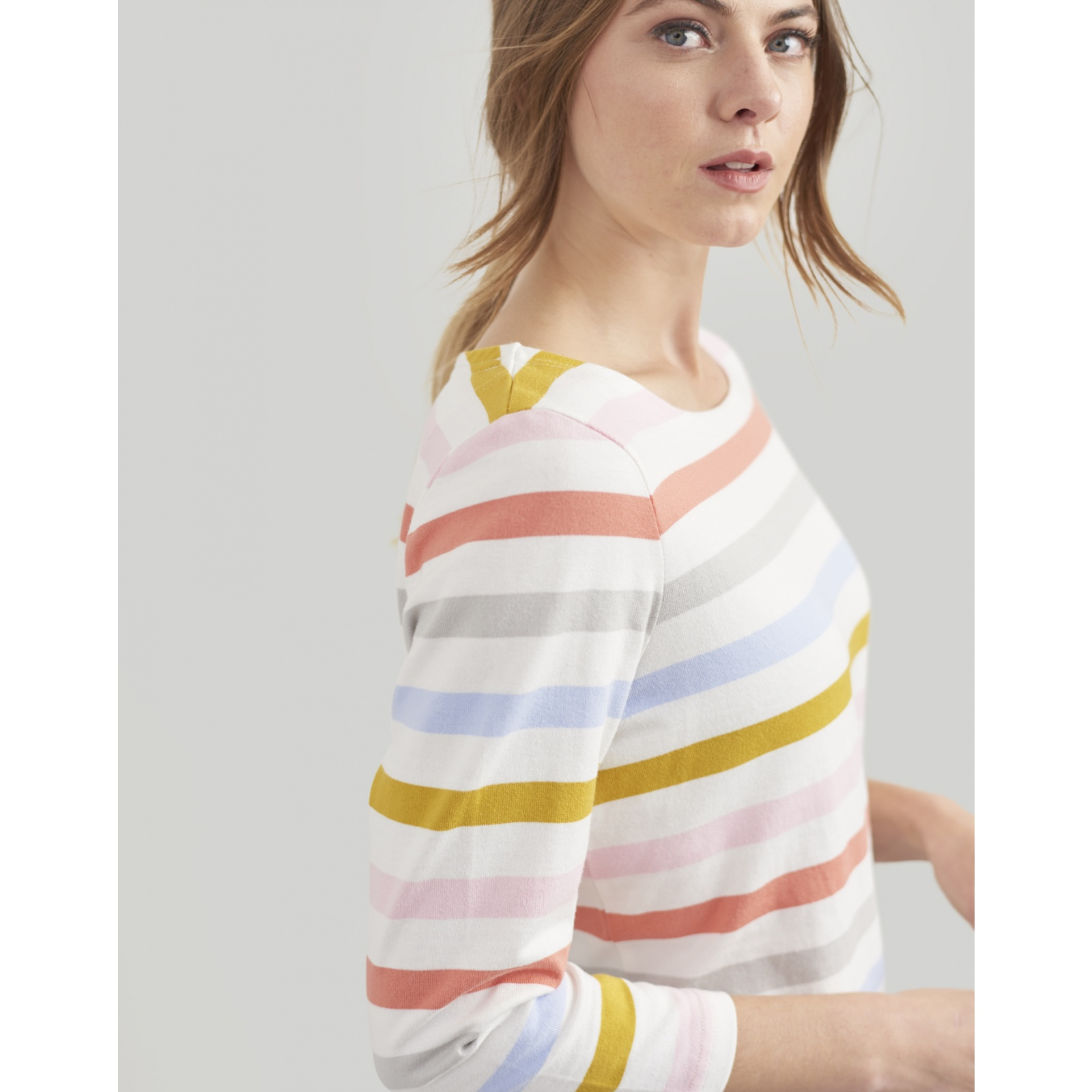 Joules-Harbour-Jersey-3-4-Sleeve-Top-SS19 thumbnail 21