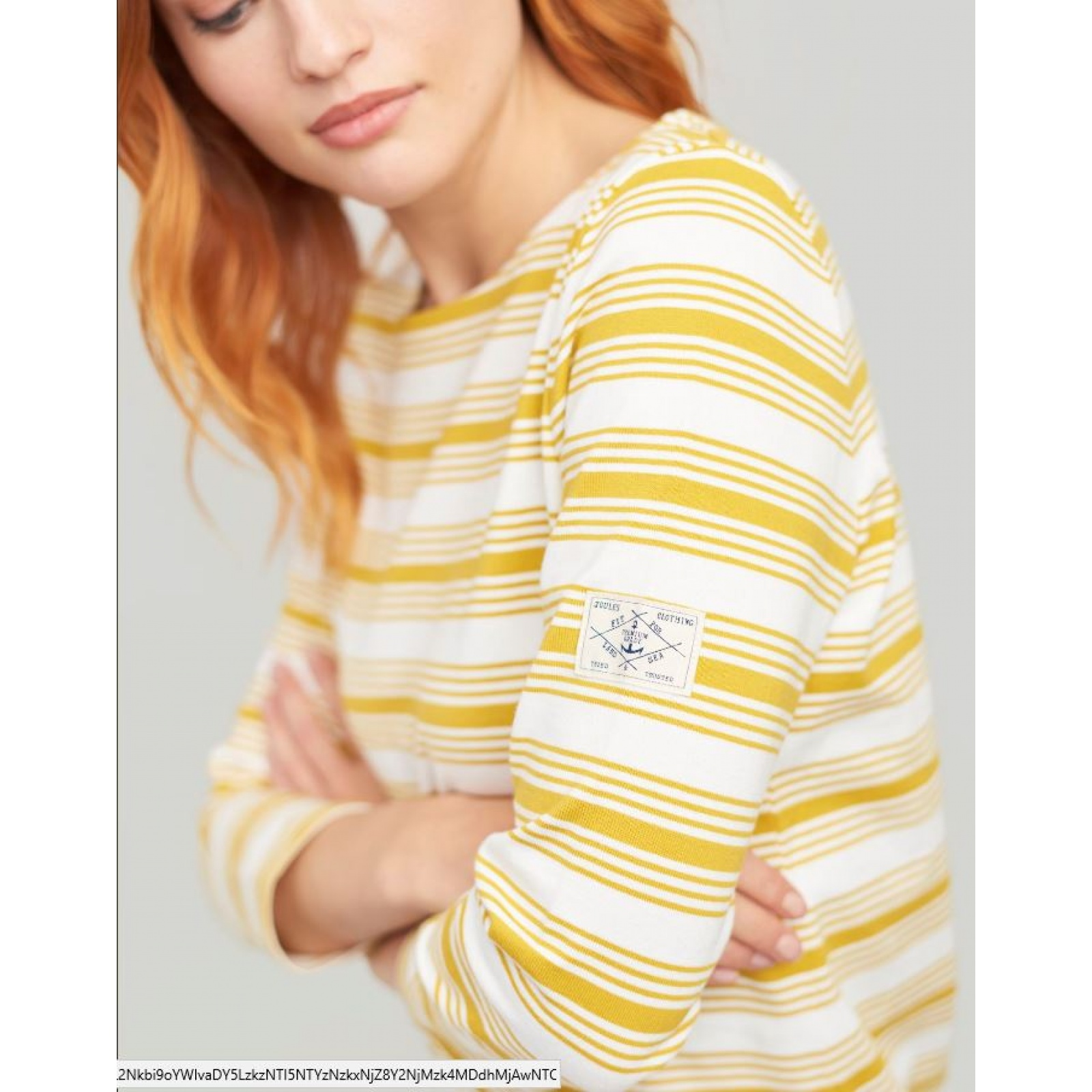 Joules-Harbour-Jersey-3-4-Sleeve-Top-SS19 thumbnail 18