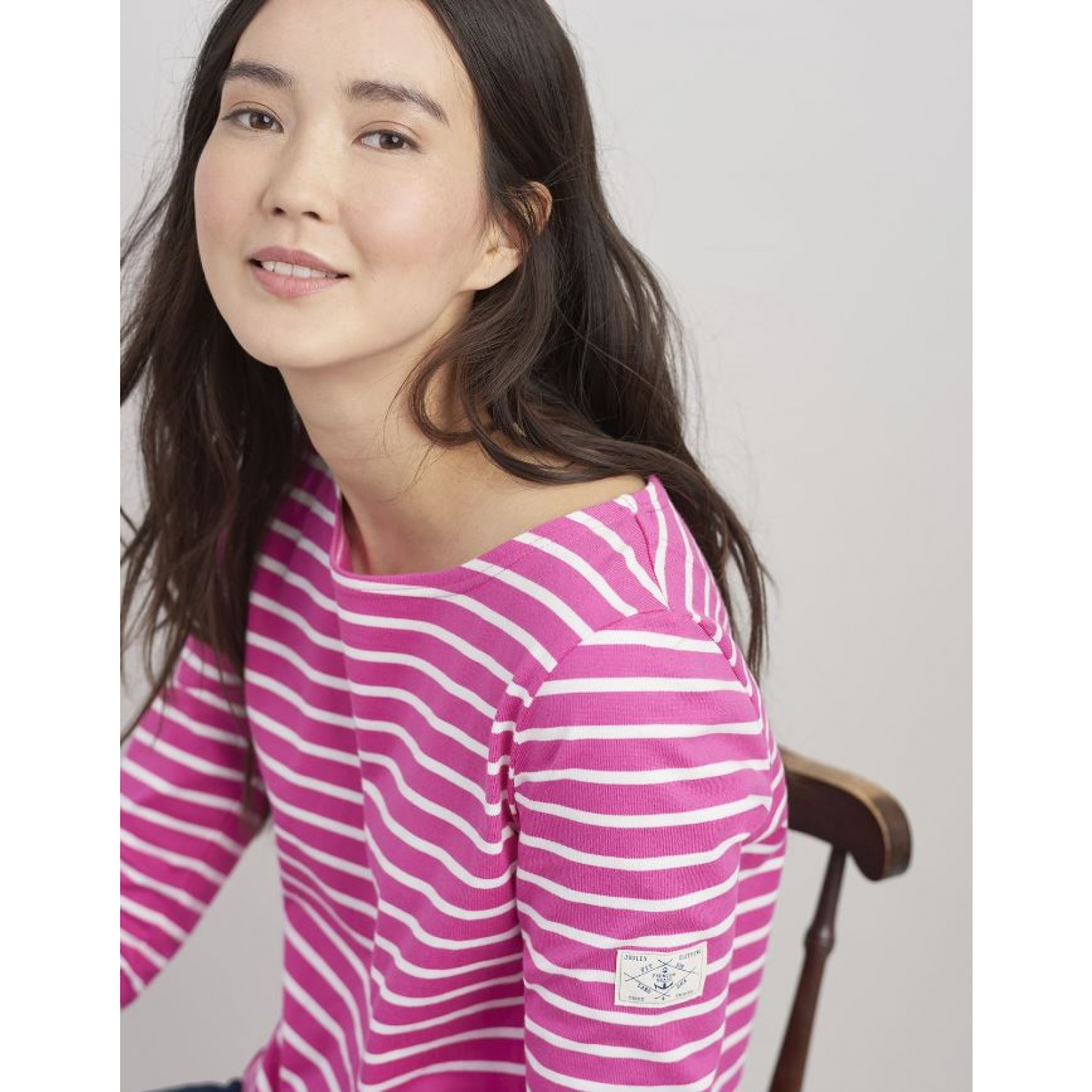 Joules-Harbour-Jersey-3-4-Sleeve-Top-SS19 thumbnail 39