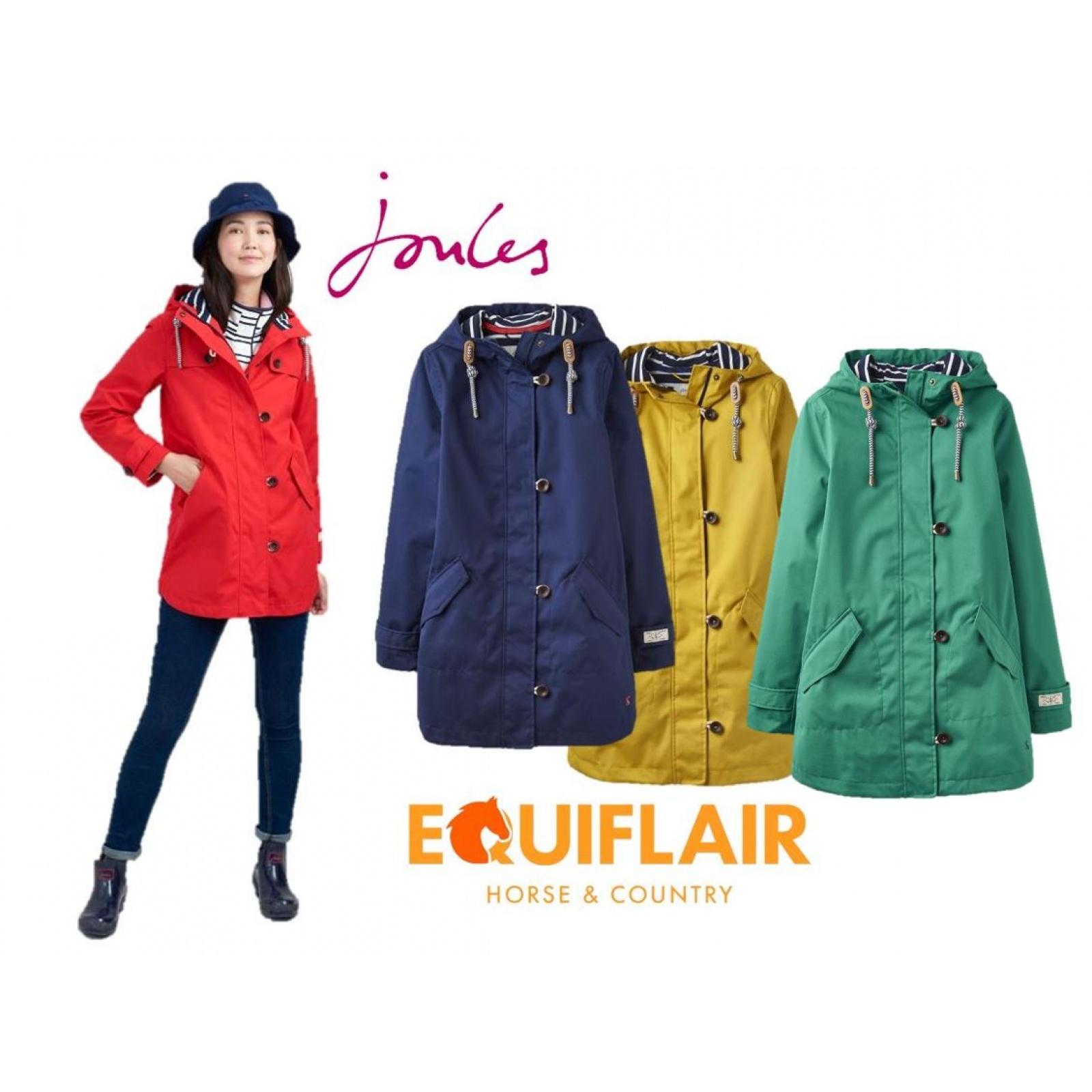 Joules-Coast-Mid-Waterproof-Hooded-Rain-Jacket-MORE-COLOURS miniature 9