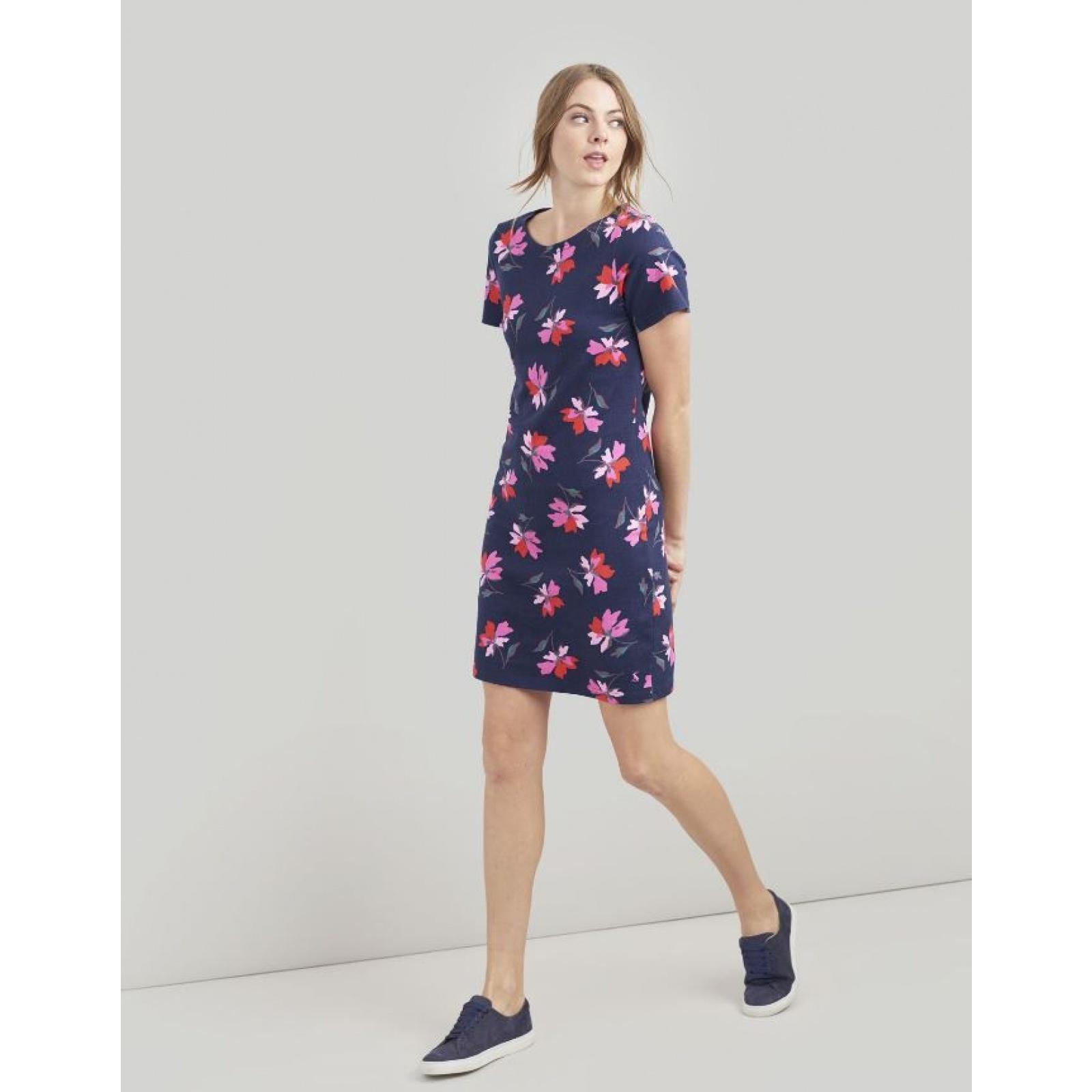 Joules-Riviera-Print-T-Shirt-Dress-with-Short-Sleeves-SS19 thumbnail 20