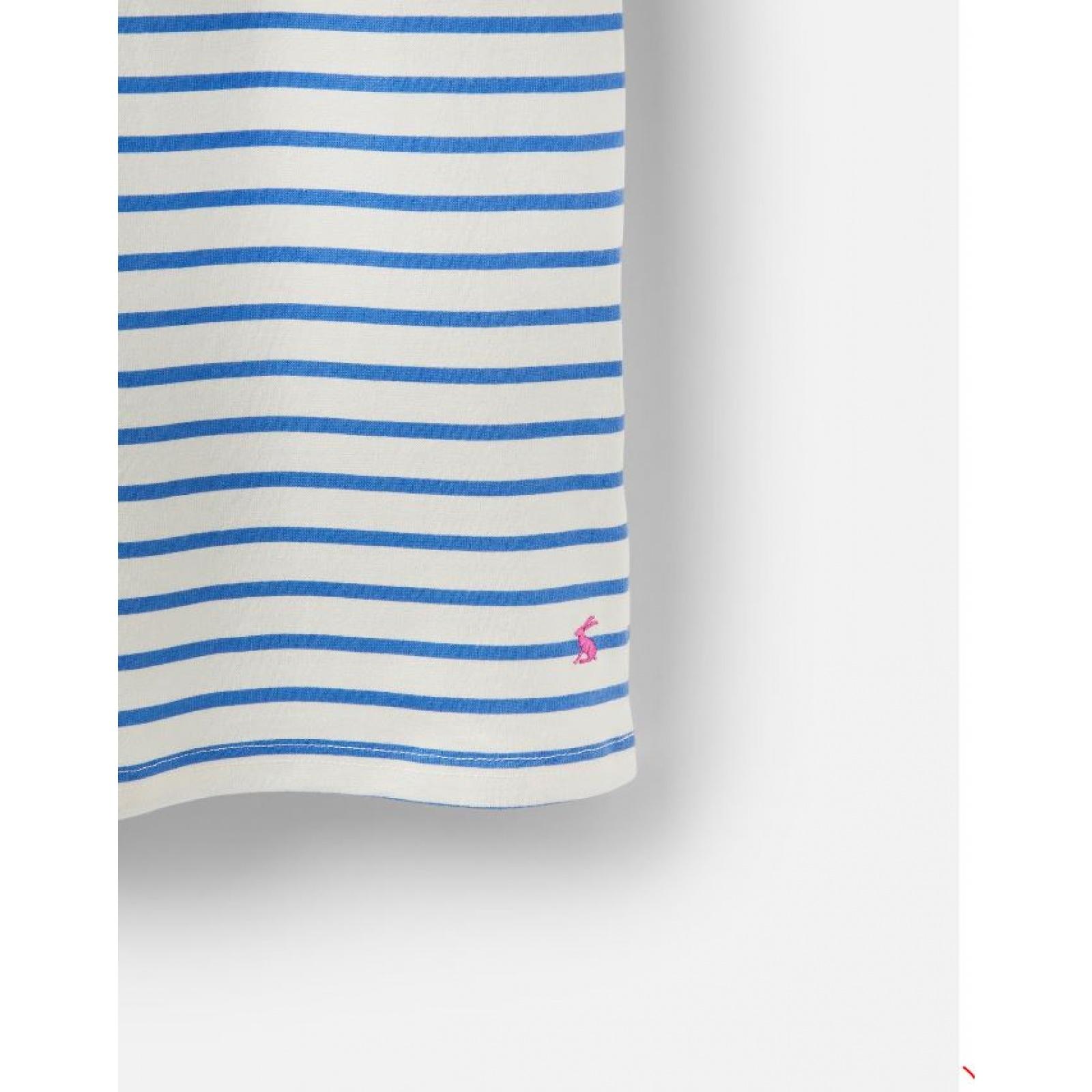 Joules-Riviera-Print-T-Shirt-Dress-with-Short-Sleeves-SS19 thumbnail 8