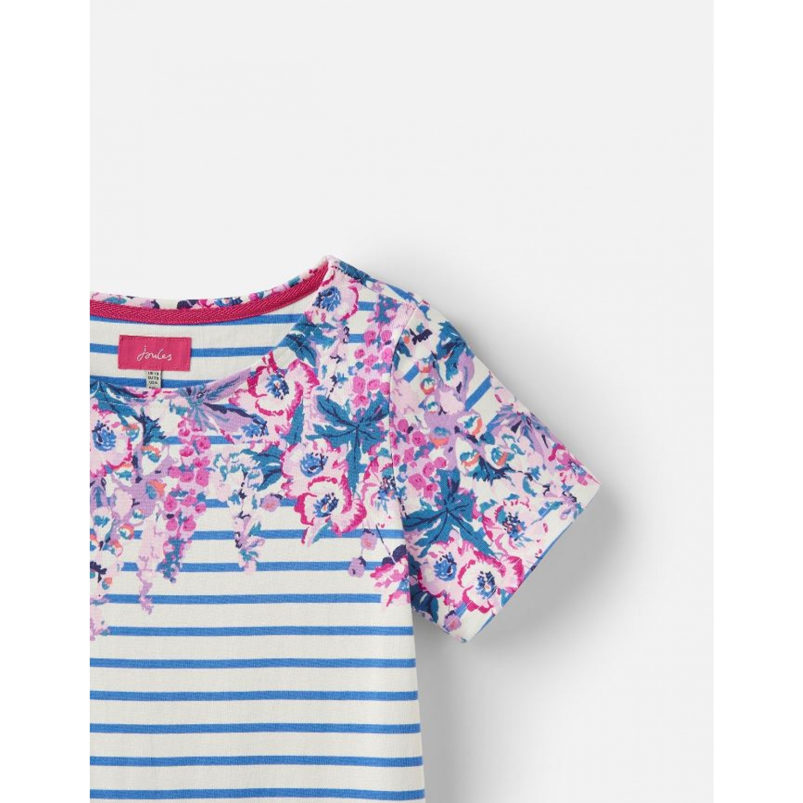 Joules-Riviera-Print-T-Shirt-Dress-with-Short-Sleeves-SS19 thumbnail 7