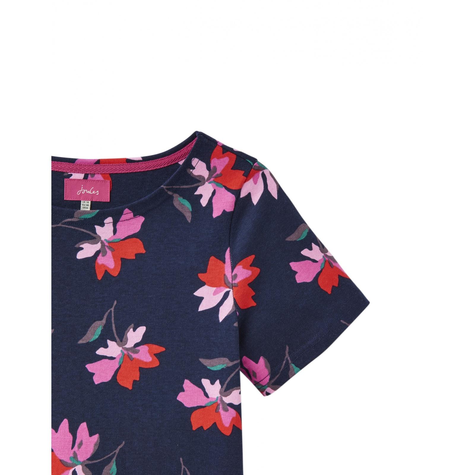 Joules-Riviera-Print-T-Shirt-Dress-with-Short-Sleeves-SS19 thumbnail 23