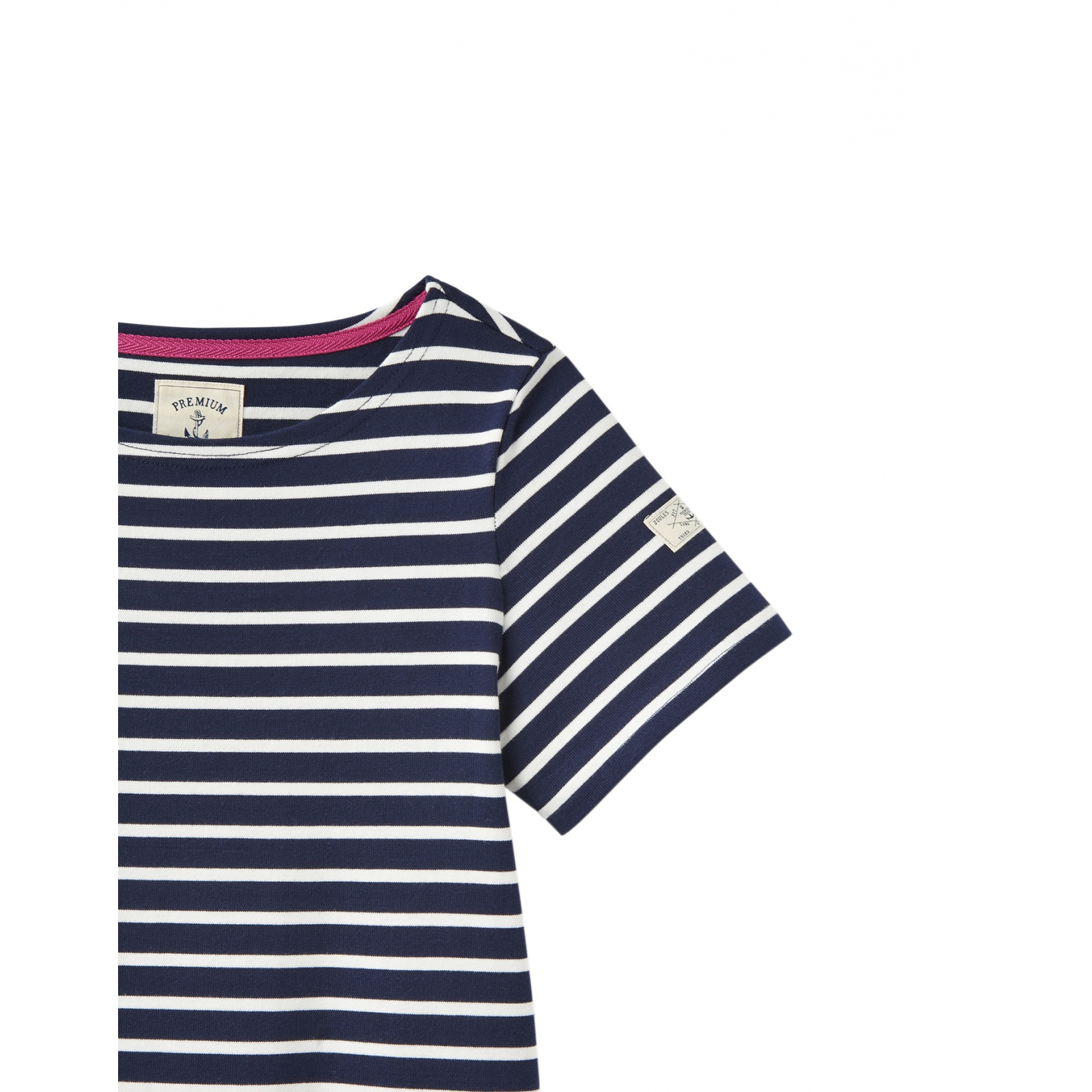 Joules-Riviera-T-Shirt-Dress-with-Short-Sleeves-SS19 miniature 23