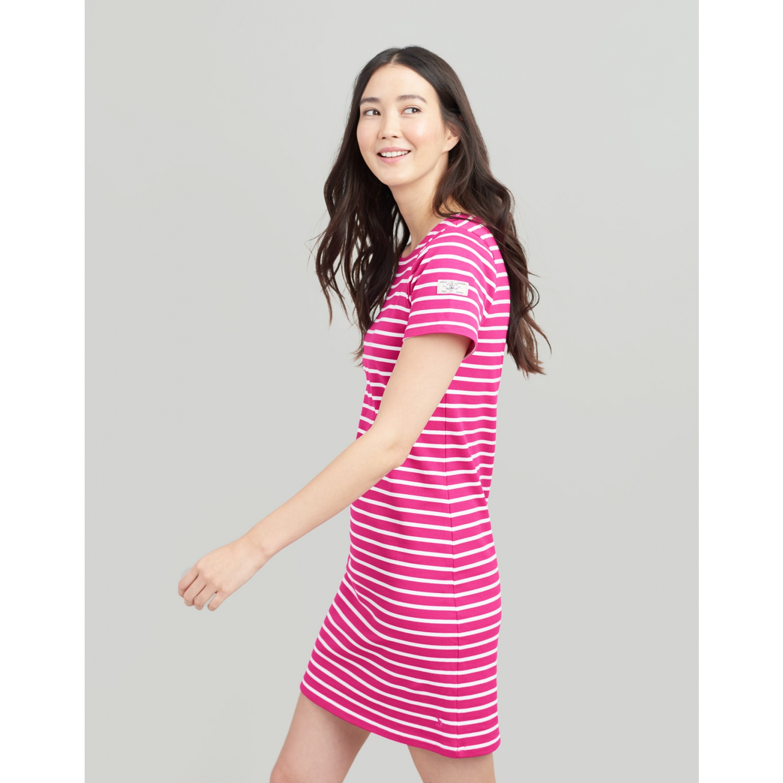 Joules-Riviera-T-Shirt-Dress-with-Short-Sleeves-SS19 miniature 27