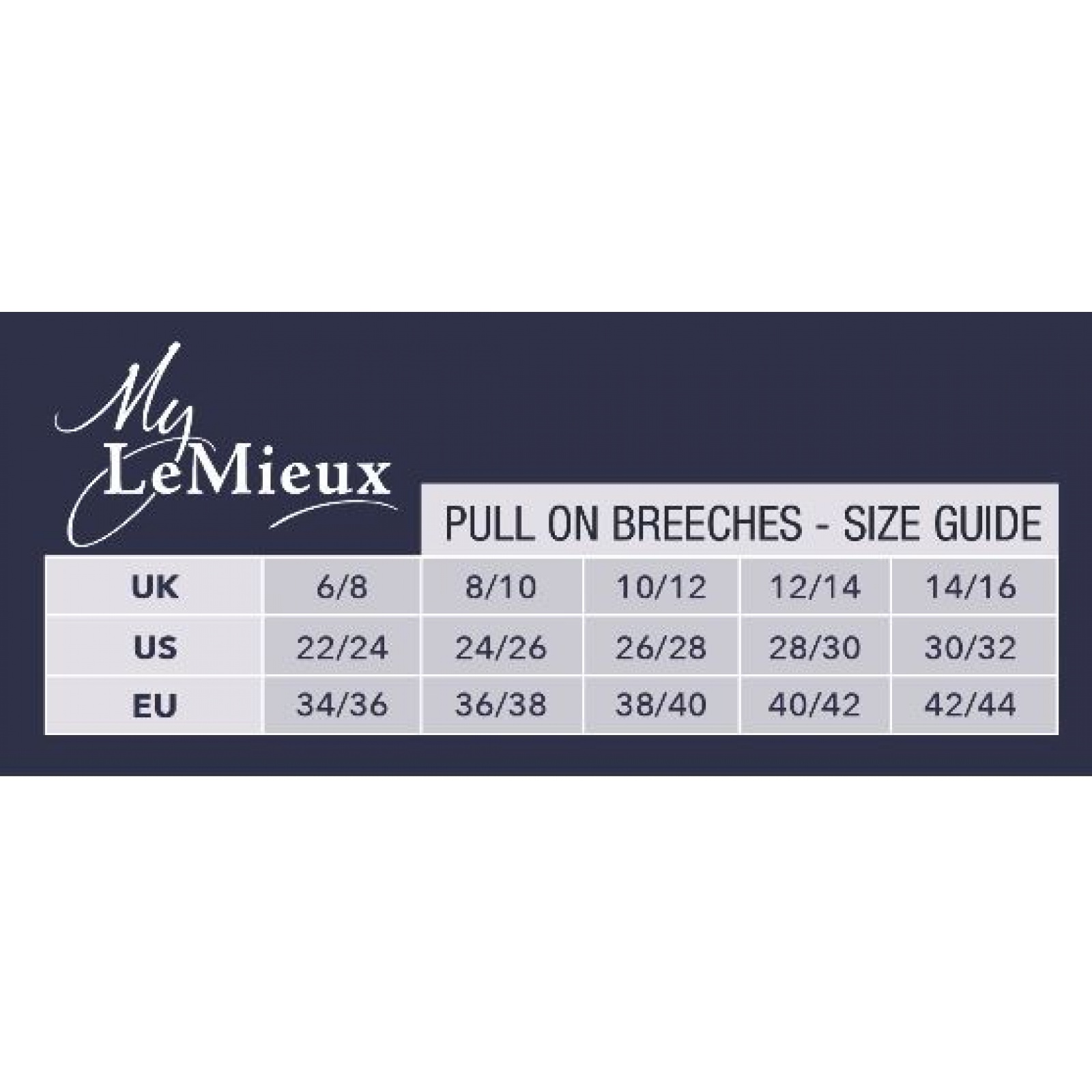 My-LeMieux-Pull-On-Breeches-Riding-Tights miniature 4