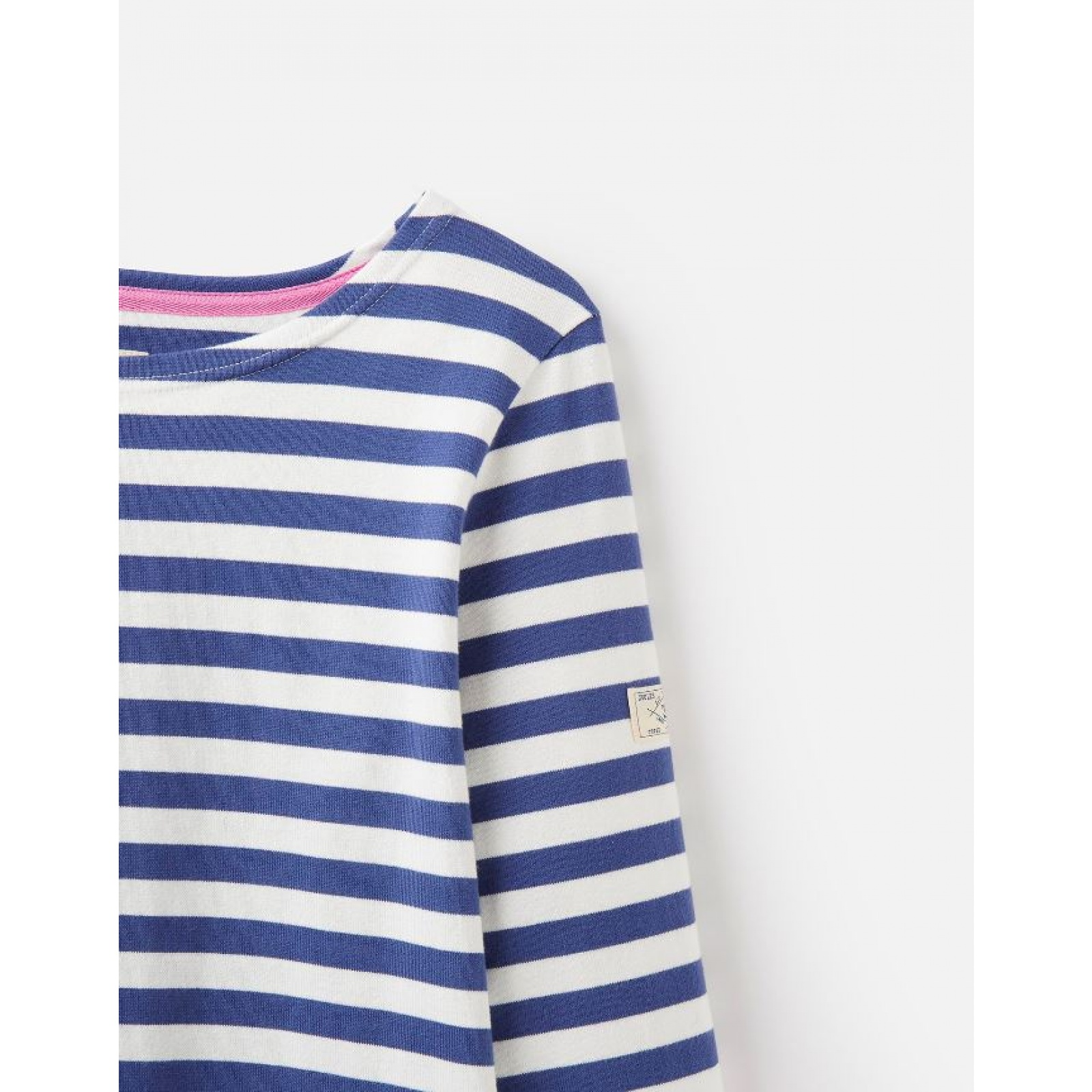 Joules-Harbour-Jersey-3-4-Sleeve-Top-SS19 thumbnail 14
